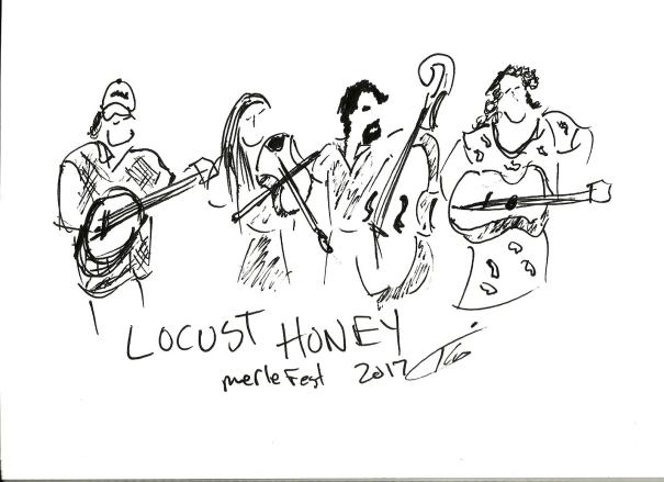 locust honey